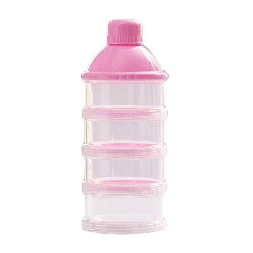 Hart Arbeitend Tragbare Neugeborenen Baby-milchpulver Container 4 Schichten Feuchtigkeits Baby Füttern Flasche Snacks Süßigkeiten Aufbewahrungsbox Y Fütterung Aufbewahrung Von Säuglingsmilchmischungen