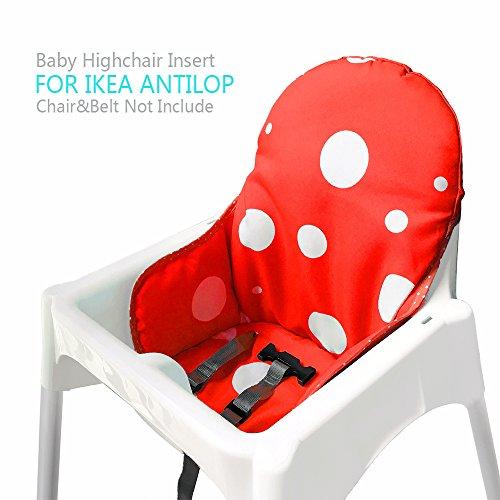 ikea antilop hochstuhl sitzbez ge kissen von zama. Black Bedroom Furniture Sets. Home Design Ideas