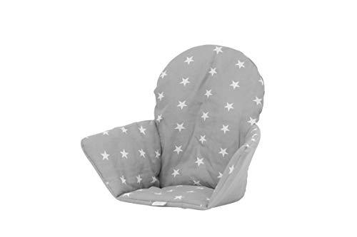 polini kids sitzkissen sitzeinlage f r ikea antilop stars grau. Black Bedroom Furniture Sets. Home Design Ideas