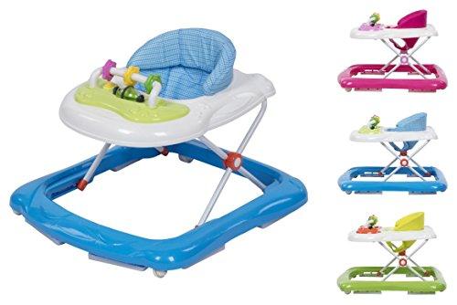 Kleinkindspielzeug Lauflernwagen Bausteine Bauklötze Kinder Gehhilfe Holz Lauflernhilfe Baby Walker Tropf-Trocken